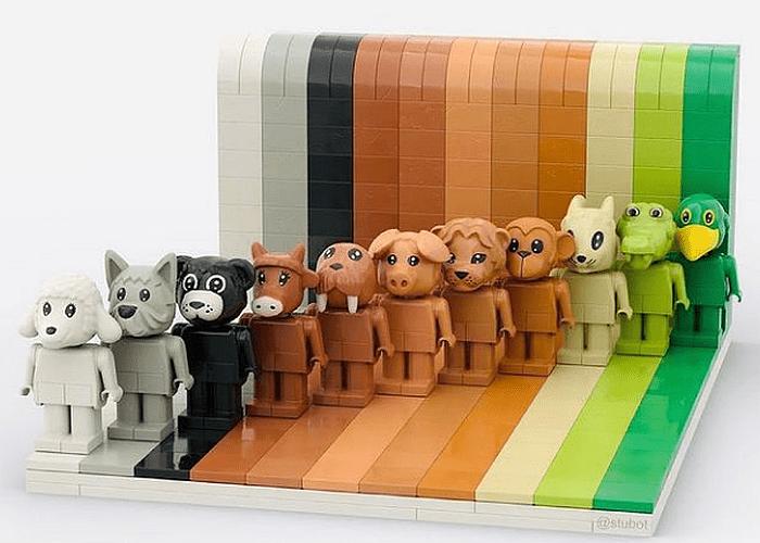 LEGO Everyone is Awesome by brightonbricks