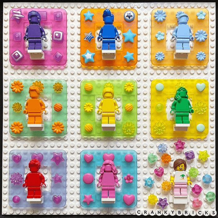 LEGO Everyone is Awesome by crankybricks