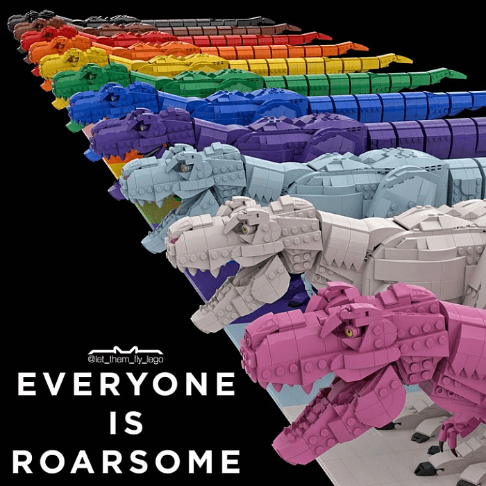 LEGO Everyone is Awesome by let them fly lego