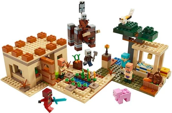 LEGO Minecraft Ninja Set
