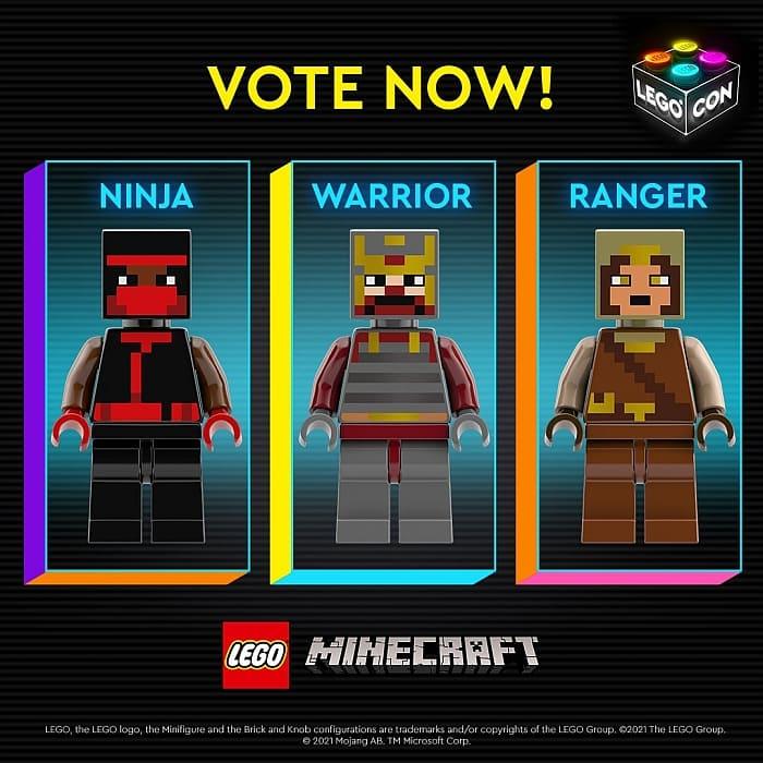 LEGO Minecraft Skins Poll 1