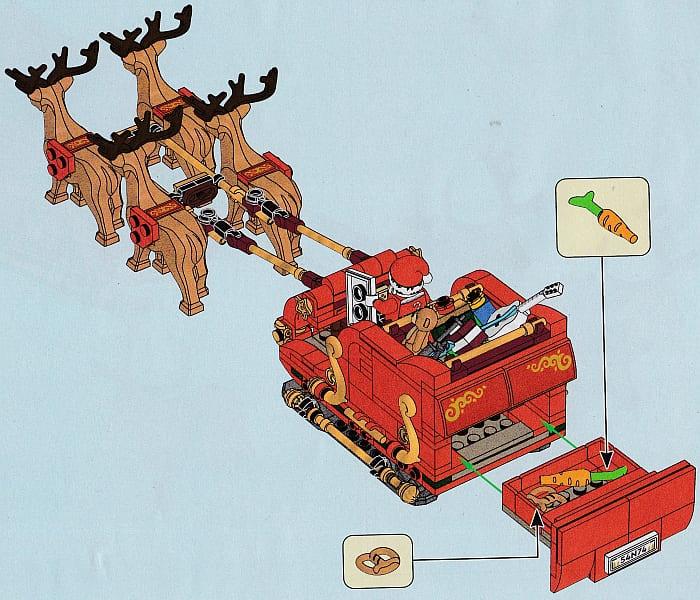 40499 LEGO Santas Sleigh 7