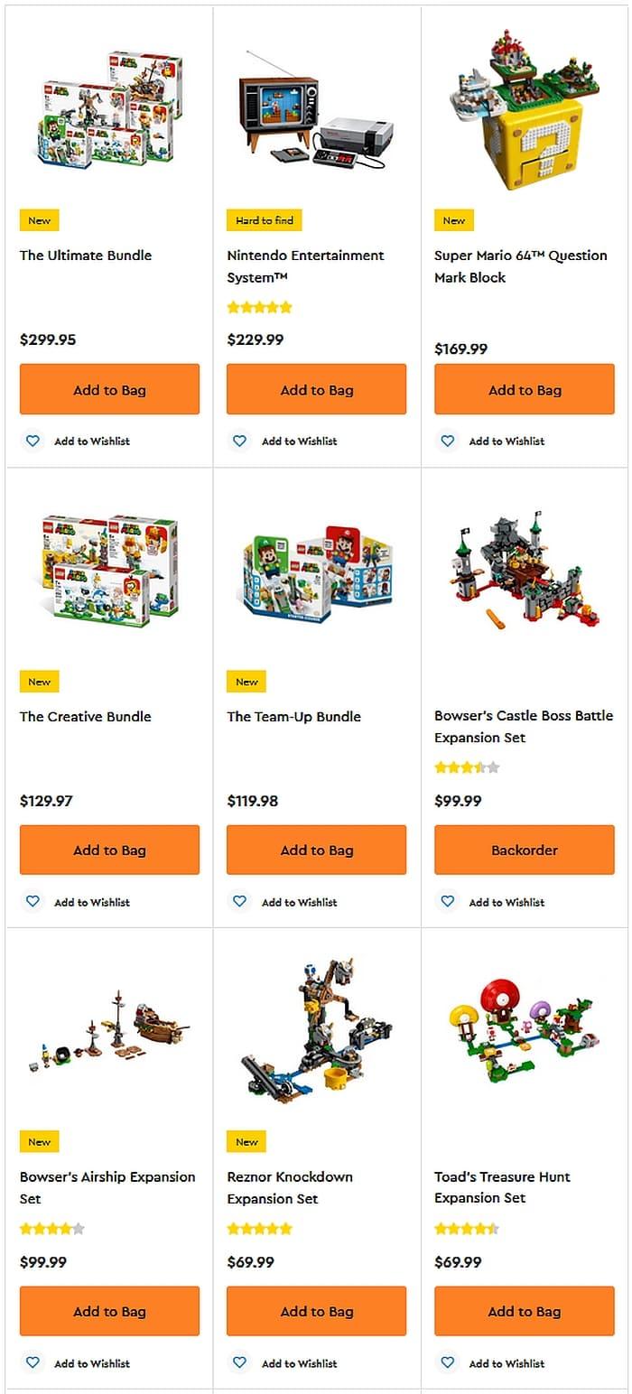 Shop LEGO Super Mario 3 1