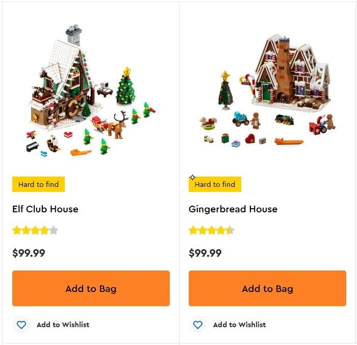 Shop LEGO Winter Village 2021 1