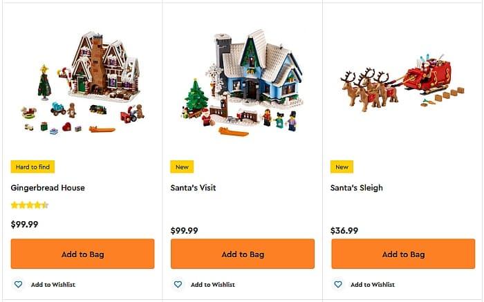 Shop LEGO Winter Village 2021 2 1