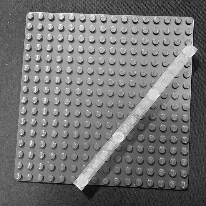Working with LEGO Triangles 16 Long Triple